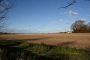View across the farmland