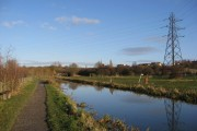 Chesterfield Canal - Approaching Mill Green (Staveley)