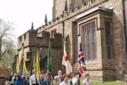 St. George's Day parade, 2002