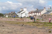 Tide out at Ravenglass
