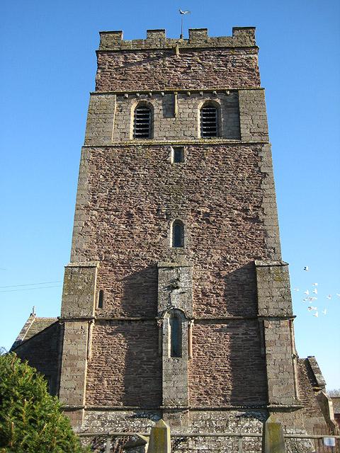 West tower, St Margaret's, Wellington