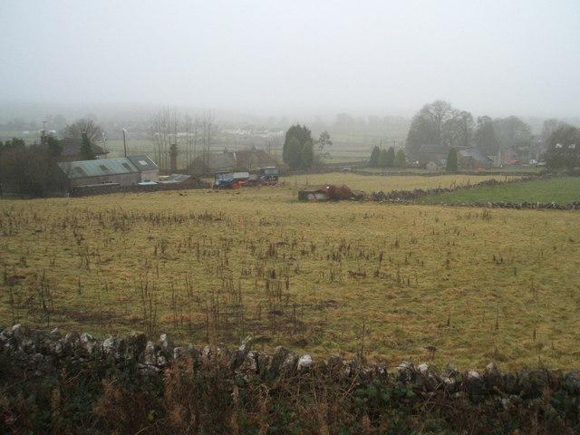 Biggin on a dull Derbyshire day