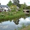 The Bridge and River Arrow at Eardisland