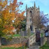 Hartington Church, graveyard and gateway