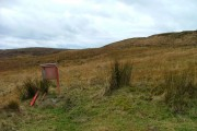 Moorland and letter box