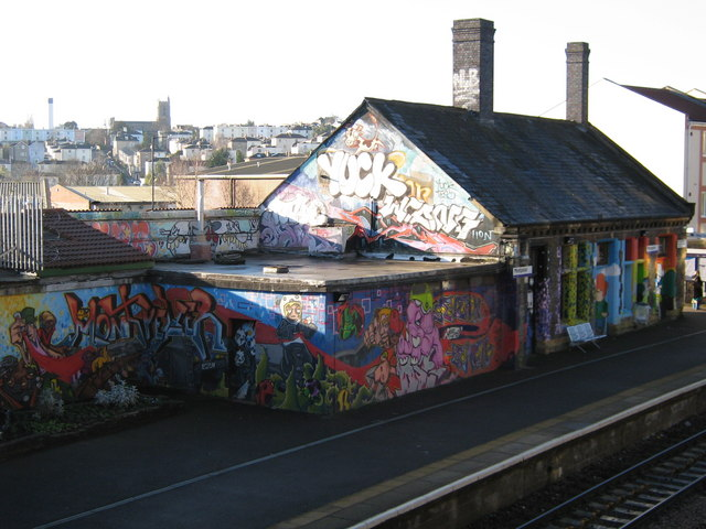 Street art at Montpelier station