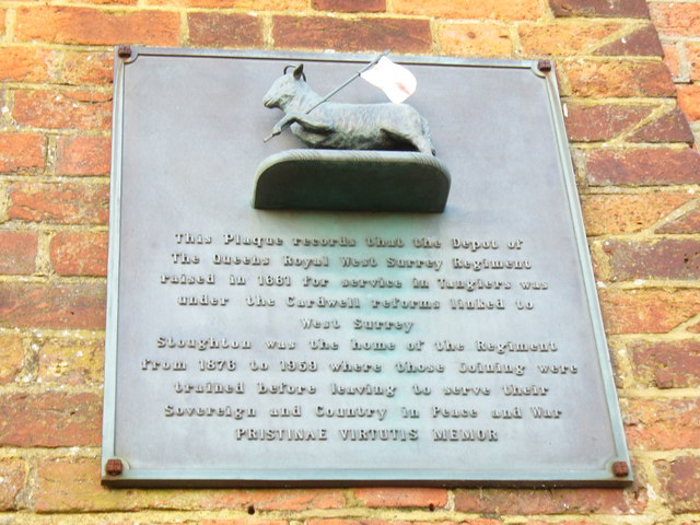 Plaque at Cardwell's Keep