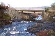 Bridge over Treaslane River