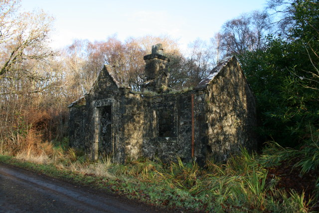 Ruin near Drimnin House
