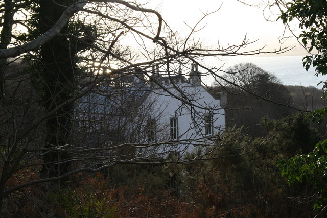 Drimnin House from the road