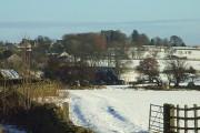 Bowes village and castle