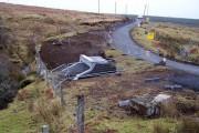 Bridge works in Balmeanach