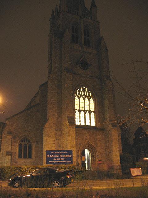St John's church, Christmas Eve