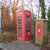 Bus Stop,Telephone & Post Box