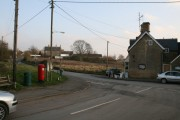 Staggered crossroads in Chadlington