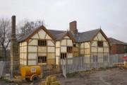 Buckshaw Hall, Rear view
