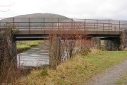 Ex-railway bridge over Abergwynant