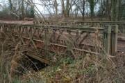 Mk II Bailey Bridge Near Hampton Vale
