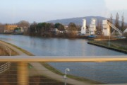View from the new canal bridge