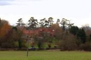 Hill village, from east of A426 (1 of 2)