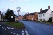 A144 The Street, Bramfield & Village Sign