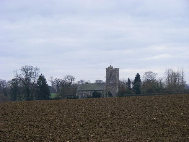 All Saints, Hawstead
