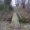 Footbridge Over Lark Rise