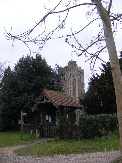 Church Gate, All Saints, Hawstead