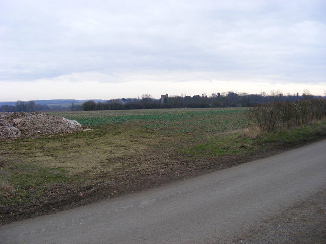 In the Distance - All Saints, Hawstead