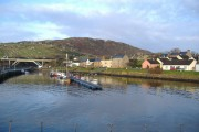 Helmsdale from the harbour wall