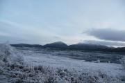 River Garry in Glen Garry near Inchlaggan in Winter