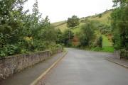 Lane between Pen-bont Rhydybeddau and Penrhyn-coch