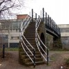 Grand Union canal footbridge, Leamington Spa
