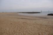 Sandbanks: a horseshoe-shaped bit of beach