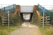 Slough to Windsor & Eton Central railway bridge