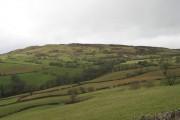 Farmland, looking across to Mwdwl-eithin