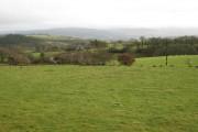 Farmland near Ffrydd-fawr