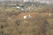 View across Ewenny toward Bridgend