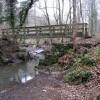 Footbridge over the Moss Brook