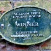 Plaque on Seldom Seen Engine House
