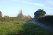 Covehithe church and village