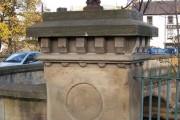 Hillfoot Bridge Pillar, Neepsend, Sheffield