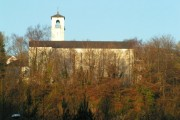 Church taken from the tech estate