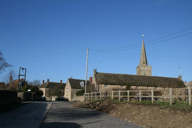 Shellingford village