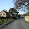 Village street in Shellingford