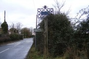 Clopton Village Sign