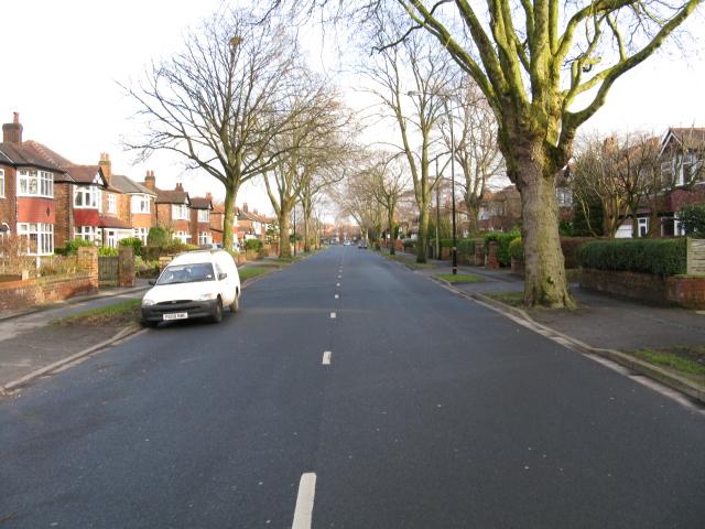 Norris Road, looking east