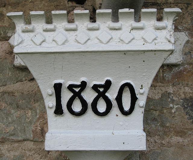 Last renovated in 1880