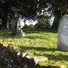 Older part of the churchyard, Burghill