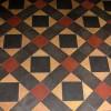 Tiled floor, St Mary's, Burghill